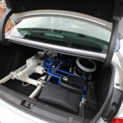Ardoo Caresafe 140 Portable Hoist in Car with Wheelchair