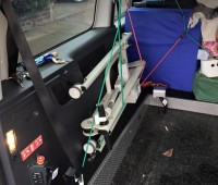 Ardoo Caresafe 140 Hoist- In VW Maxi Caddy