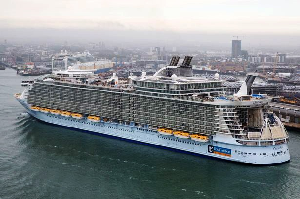 Image of customer taking the Ardoo Caresafe 140 Mobility Hoist on a Cruise from Southampton