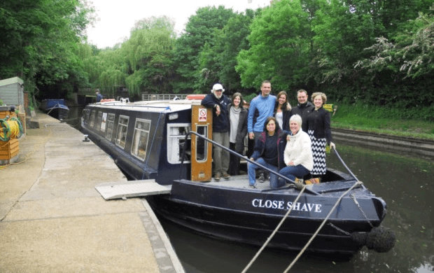 Canal Boat for hoist story