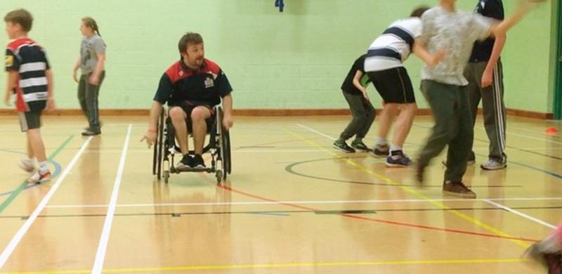 wheelchair rugby picture on www.ardoohoists.com
