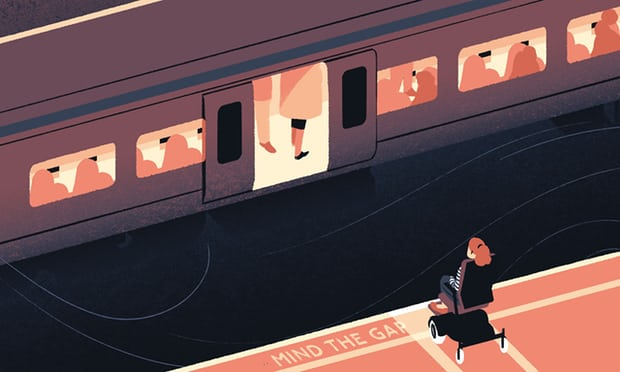 Hassles with public transport are a common theme … Illustration: Tommy Parker at Synergy