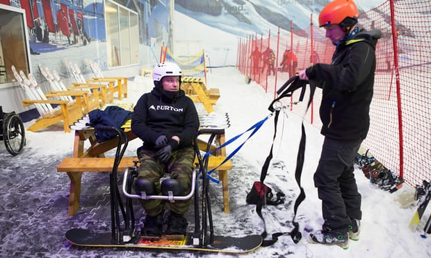Image of Winter UK disabled athletes to getting ready to take to slopes